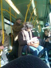 roma, tram 8
