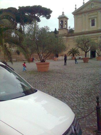 roma, piazza di sant'anastasia