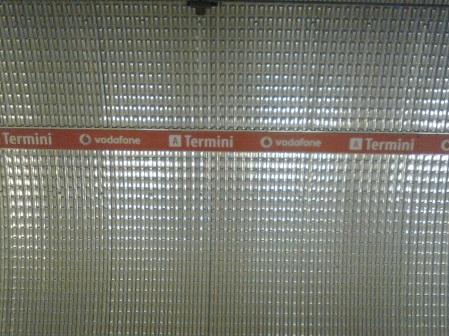 roma, stazione della metro termini