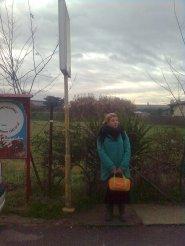 roma, fermata dell'autobus a ciampino