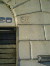 roma, via marsala numero 86