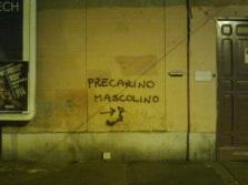 roma, viale trastevere, precarino mascolino