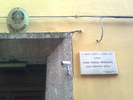 bologna, pasolini e guardia di finanza