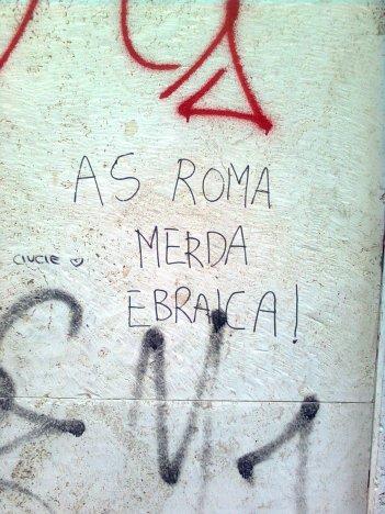 roma, ± marconi, as roma merda ebraica