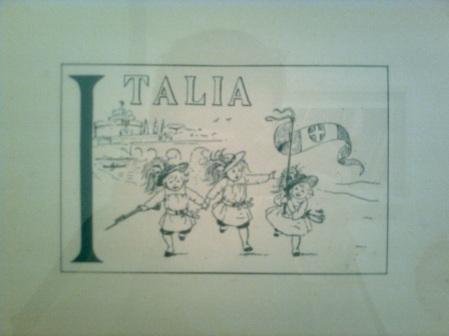 roma, studio medico, quadro alfabetico lettera I