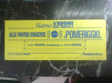roma, poste italiane