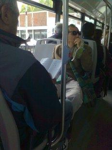 roma, autobus