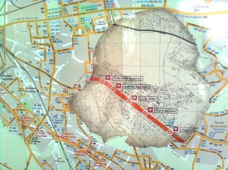 roma, metro, mappe nuove e vecchie