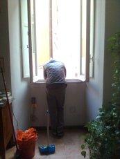 roma, finestra